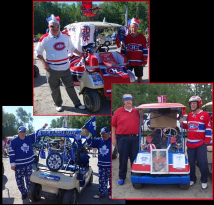 Habs Fans vrs Leafs Fans